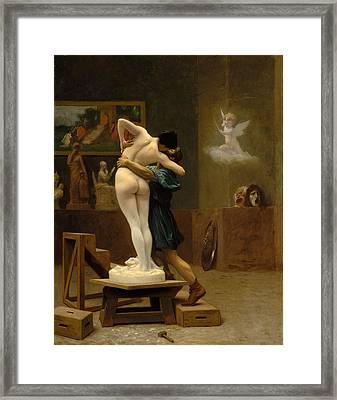 Pygmalion And Galatea Framed Print
