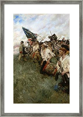 Pyle: Nation Makers, 1906 Framed Print