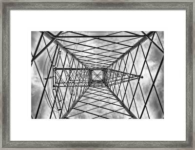 Pylon Framed Print by Howard Salmon