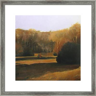 Framed Print featuring the painting Pyracantha by Cap Pannell