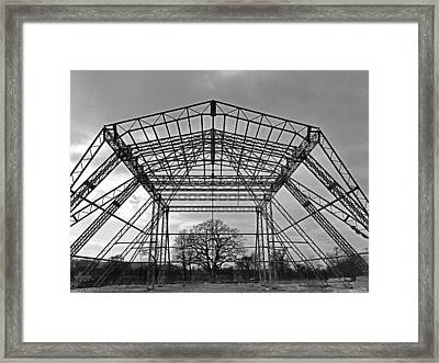 Pyramid Framed Print by James Bradley