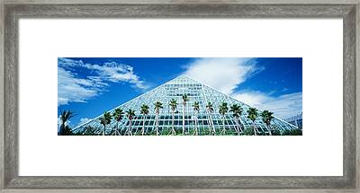 Pyramid, Moody Gardens, Galveston Framed Print by Panoramic Images