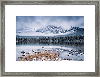 Pyramid Mountain Framed Print
