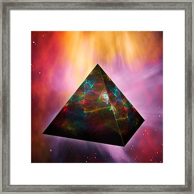 Pyramid Of Souls Framed Print