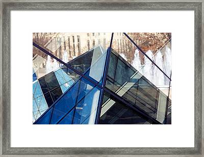 Pyramid Skylights Framed Print