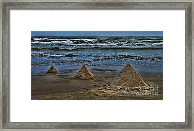 Pyramids Framed Print by Jeff Breiman