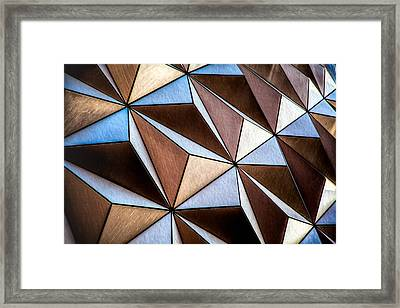 Framed Print featuring the photograph Pyramids  by Joshua Minso