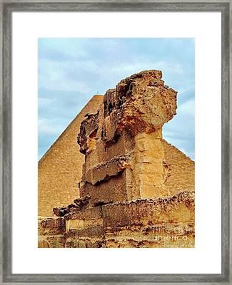 Pyramid's Temple  Framed Print by Karam Halim