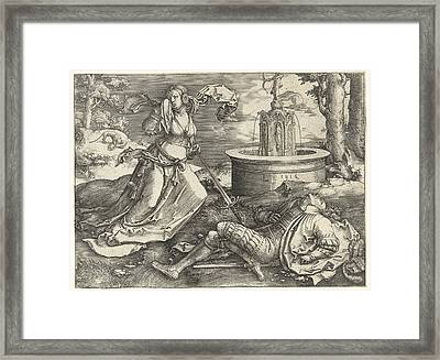 Pyramus And Thisbe Framed Print