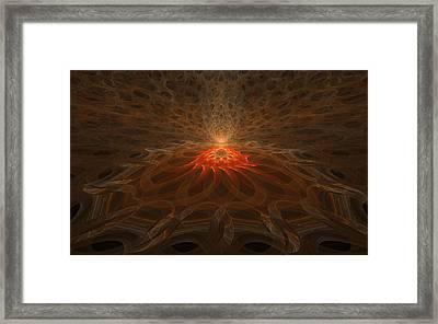 Pyre Framed Print