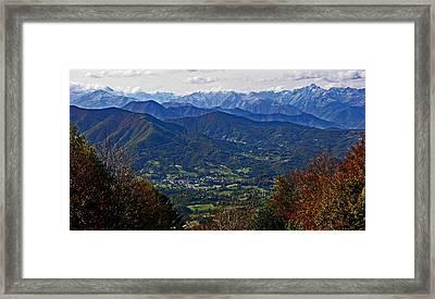 Pyrenean View Framed Print by John Topman