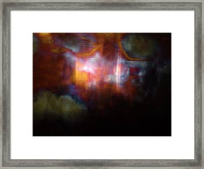 Pyro Genesis Framed Print