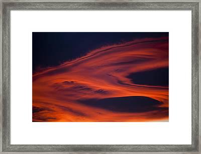 Pyroclastic Framed Print