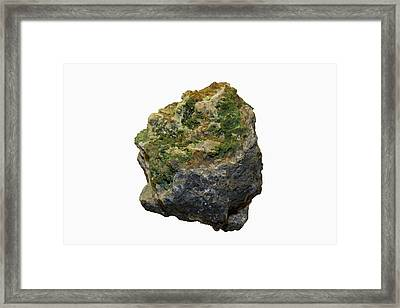 Pyromorphite Specimen Framed Print by Science Stock Photography/science Photo Library