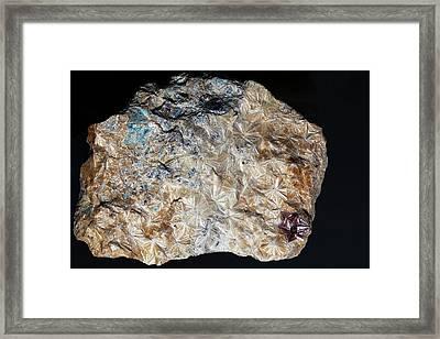 Pyrophyllite Framed Print