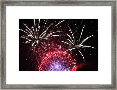 Pyrotechnics #01 Framed Print by Colin Hunt