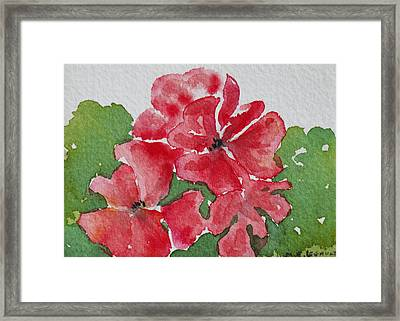 Pzzzazz Framed Print by Mary Ellen Mueller Legault