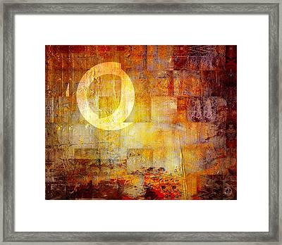 Q Framed Print by Gun Legler