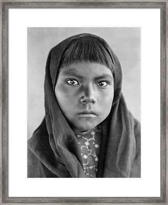 Qahatika Child Framed Print