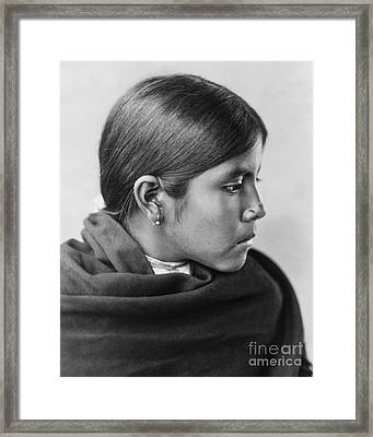 Qahatika Girl Framed Print