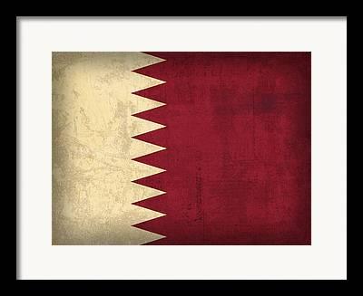 Qatar Mixed Media Framed Prints