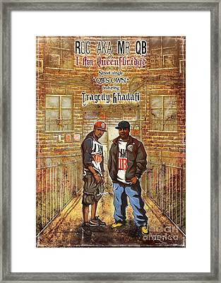 Qb's Own Framed Print