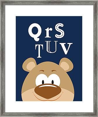 Qrstuv Animals Framed Print