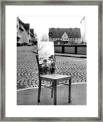 Quad And Mirror Framed Print