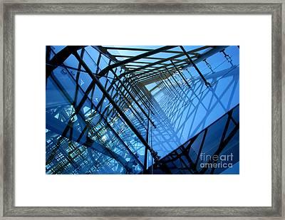 Quadrajunction Framed Print