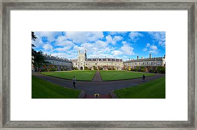Quadrangle At An University, University Framed Print by Panoramic Images