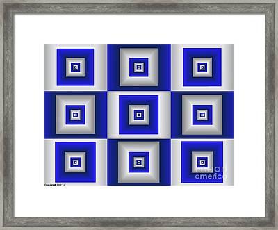 Quadrant 10 Framed Print