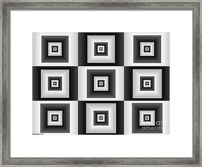 Quadrant  11 Framed Print