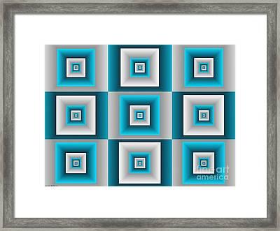 Quadrant  14 Framed Print