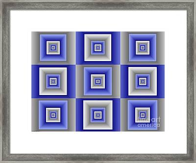 Quadrant  15 Framed Print