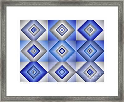 Quadrant  3 Framed Print