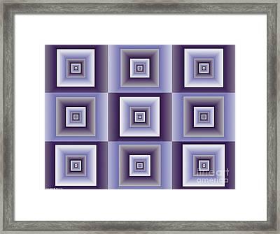 Quadrant  4 Framed Print
