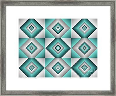 Quadrant 6 Framed Print