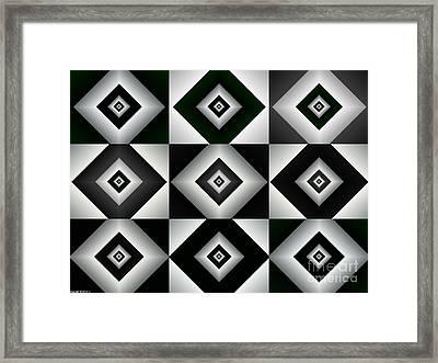 Quadrant  7 Framed Print