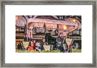 Quadri Orchestra Venice Framed Print
