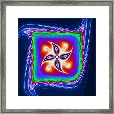 Quadriflame Framed Print by Mark Eggleston