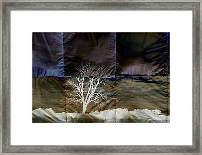 Quadrille Skies Framed Print by Jan Amiss Photography