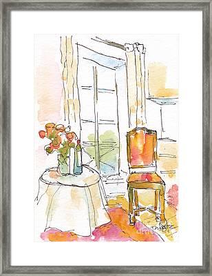 Quai Aux Fleurs - Paris Framed Print by Pat Katz