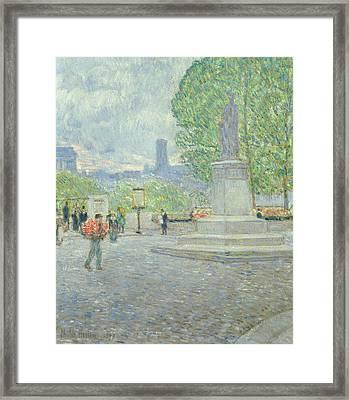 Quai Malaquais, 1897 Framed Print by Childe Hassam