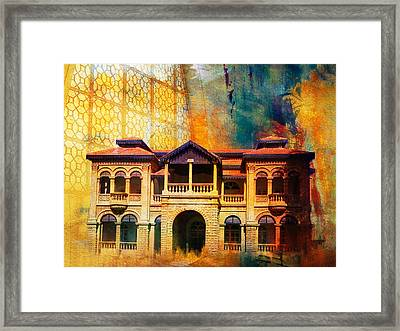 Quaid -e Azam House Flag Staff House Framed Print by Catf