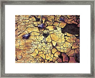 Framed Print featuring the sculpture Quaken Earth by Dan Redmon