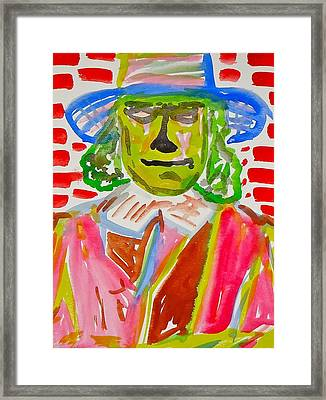 Quaker Oats Framed Print by Troy Thomas