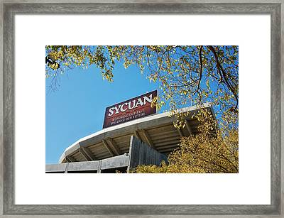 Qualcomm Bilboard Framed Print
