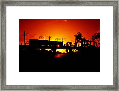 Qualcomm Station Framed Print