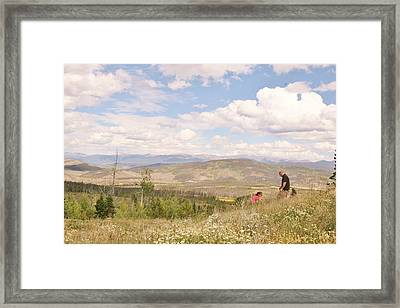 Framed Print featuring the photograph Quality Time by Shirley Heier