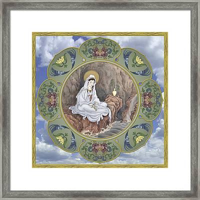 Quan Yin Celestial Blessings Framed Print